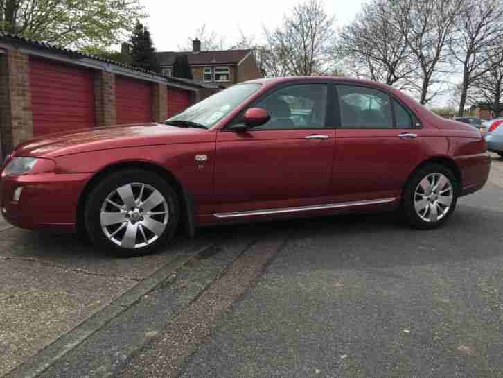 2006 Rover 75 2.5 V6 Auto Red Contemporary 65000miles