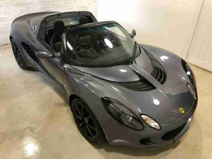 2006 S2 LOTUS ELISE 111R TOURING : GRAPHITE GREY : AC : 37K MILES : 1 OWNER