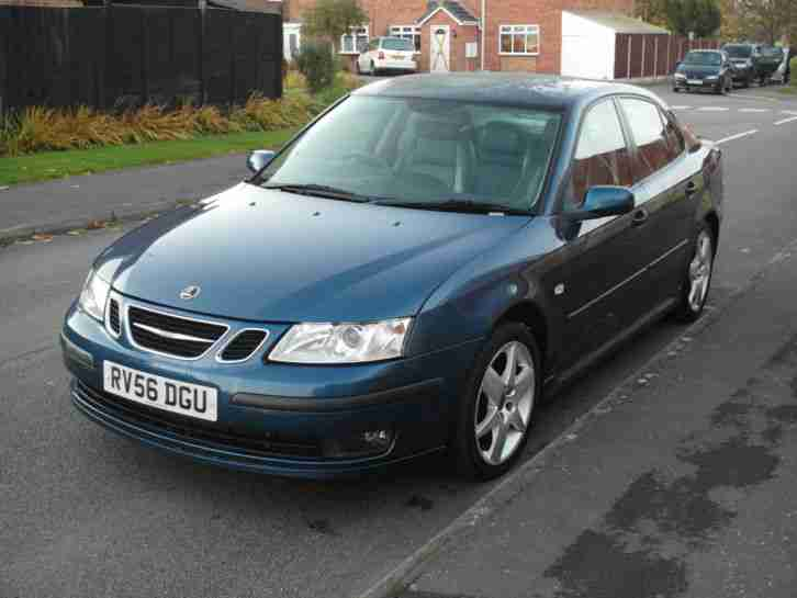 2006 SAAB 9-3 1.8T VECTOR SPORT BLUE Low Mileage, full MOT