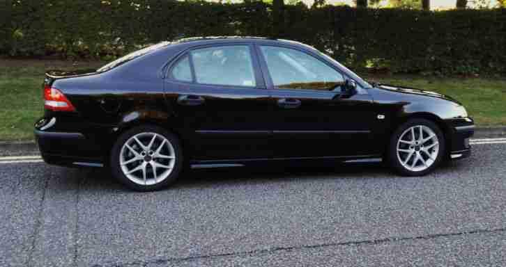 Saab 2006 9 3 Aero 210 Bhp Auto Black Car For Sale