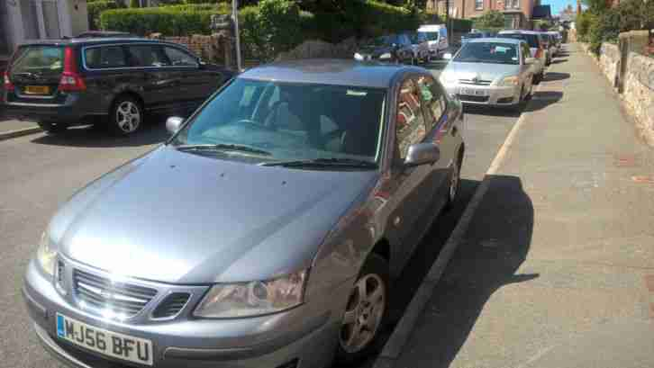 2006 SAAB 9-3 LINEAR TID 8V GREY 6 SPEED, 50mpg