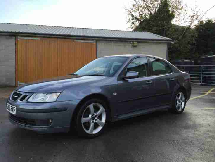 2006 SAAB 9-3 VECTOR TID GREY - ECONOMICAL, SERVICED WITH MOT & READY TO GO!