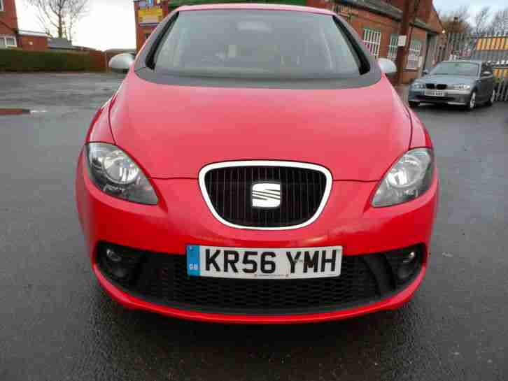 seat 2006 altea fr sports tdi red very clean car low miles car for sale. Black Bedroom Furniture Sets. Home Design Ideas