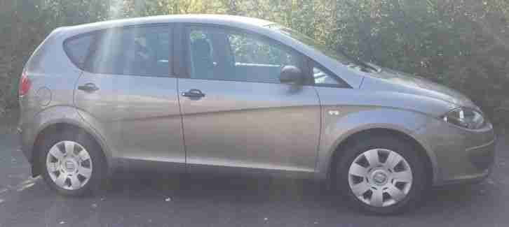 2006 SEAT ALTEA REFERENCE SILVER