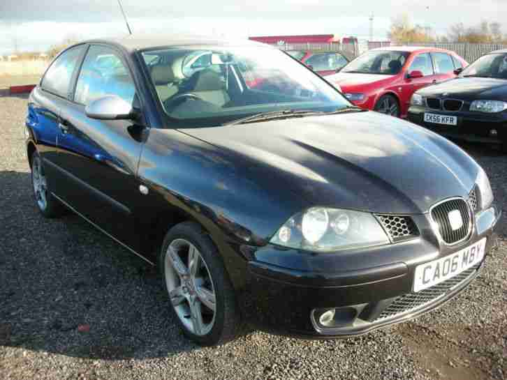 seat 2006 ibiza fr 1 9 tdi pd 130 diesel fsh 53 mpg hot hatch. Black Bedroom Furniture Sets. Home Design Ideas