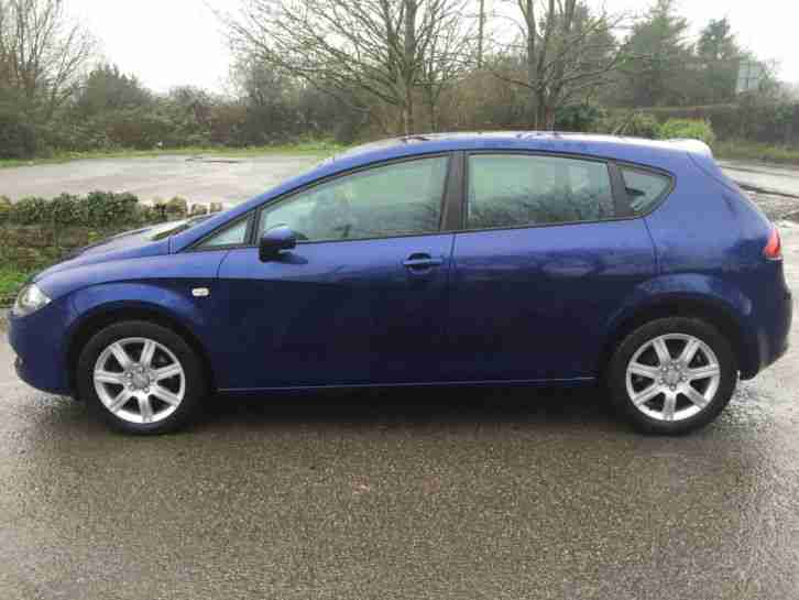 seat 2006 leon 1 6 reference blue car for sale. Black Bedroom Furniture Sets. Home Design Ideas