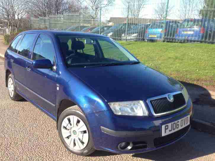skoda 2006 fabia 1 2 estate facelift model part exchange welcome. Black Bedroom Furniture Sets. Home Design Ideas