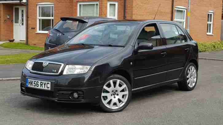 2006 SKODA FABIA VRS 1.9 TDI PD130 80K FSH LONG MOT HPI CLEAR LADY OWNER PX?