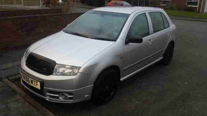 Skoda 2006 Fabia Vrs Tdi Pd 130 Silver Car For Sale