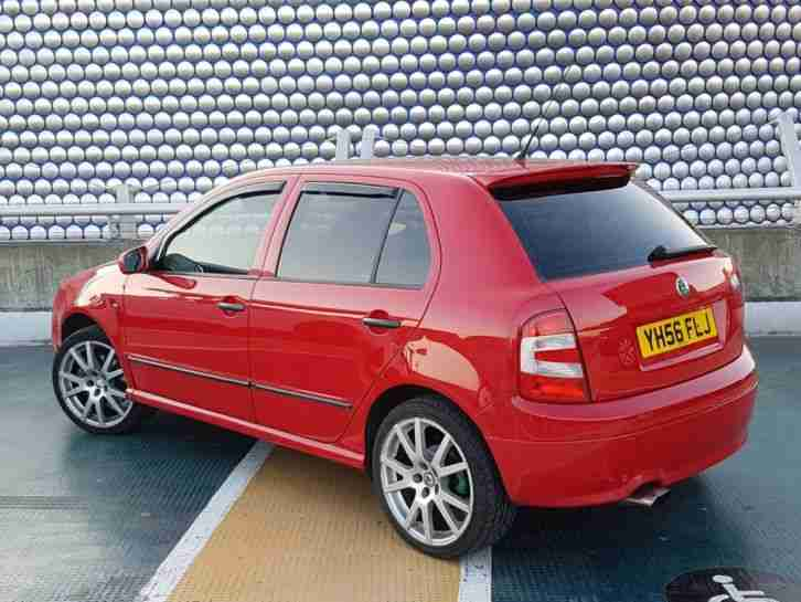 2006 FABIA VRS TDI RED 77k REDUCED