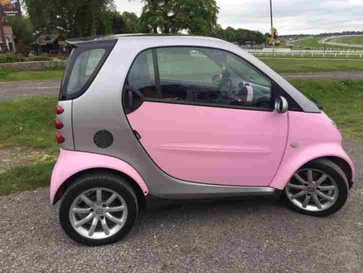 smart 2006 car fortwo passion pink edition 37000 miles semi fully. Black Bedroom Furniture Sets. Home Design Ideas