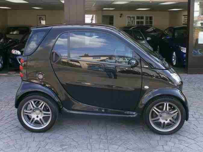 smart 2006 fortwo brabus 74 auto black car for sale. Black Bedroom Furniture Sets. Home Design Ideas