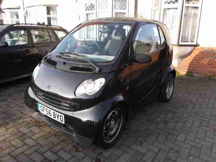 smart 2006 fortwo pure 50 black car for sale. Black Bedroom Furniture Sets. Home Design Ideas