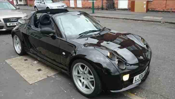 smart 2006 roadster brabus auto black car for sale. Black Bedroom Furniture Sets. Home Design Ideas