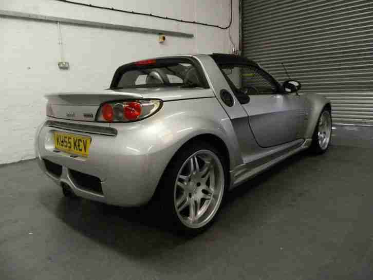 2006 SMART ROADSTER BRABUS , AUTO TURBO, CONVERTIBLE, LOW TAX AND INSURANCE,RARE