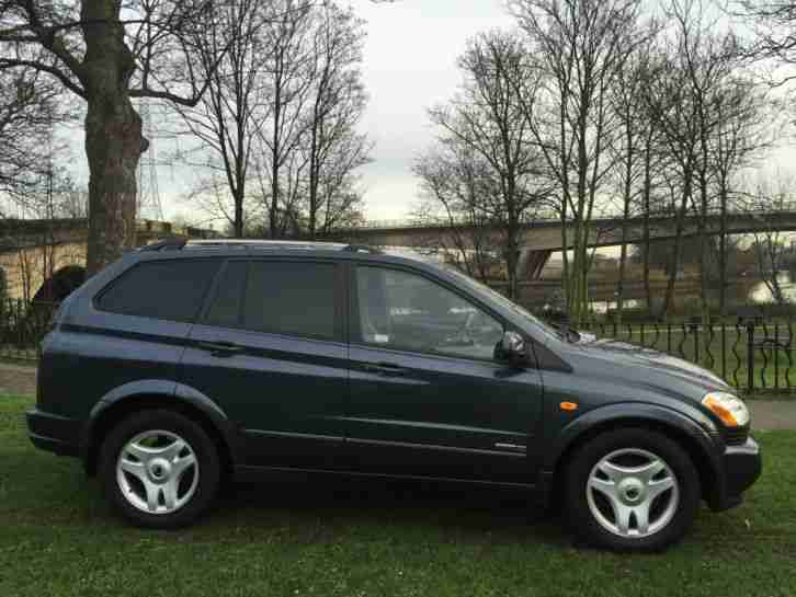 2006 SSANGYONG KYRON SX DIESEL AUTO AZURITE BLUE*NO RESERVE*LOVELY 4X4
