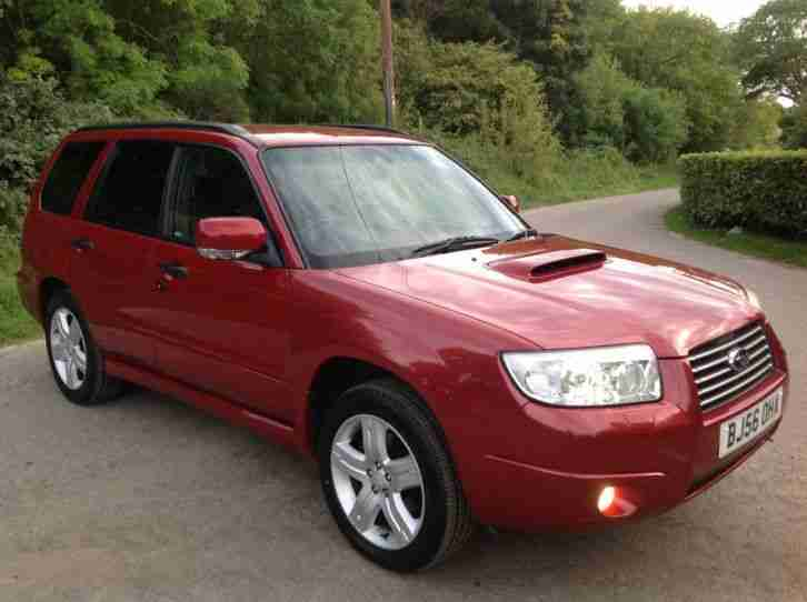 Subaru 2006 forester 2 5 xte auto awd estate genuine 66k for Subaru forester paint job cost