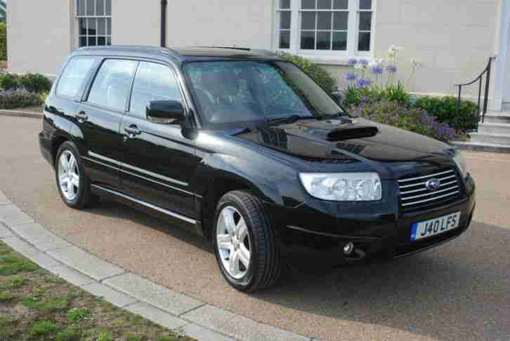 subaru 2006 forester 2 5xt turbo auto black car for sale. Black Bedroom Furniture Sets. Home Design Ideas