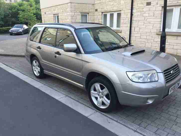 2006 FORESTER XT TURBO AUTO GREY