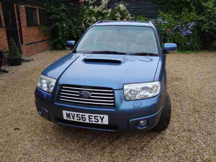 Subaru 2006 forester xten blue prodrive 260 bhp car for sale for Subaru forester paint job cost