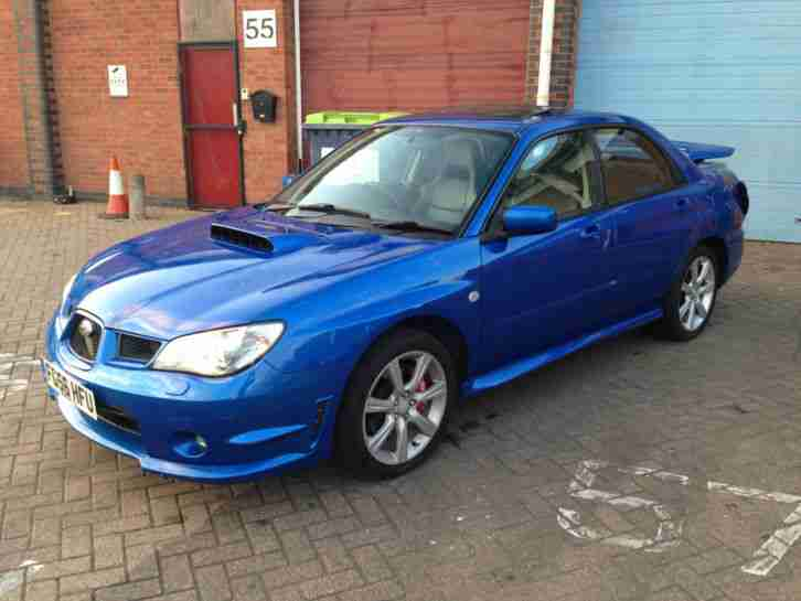 2006 IMPREZA 2.5 WRX SL BLUE LIGHT