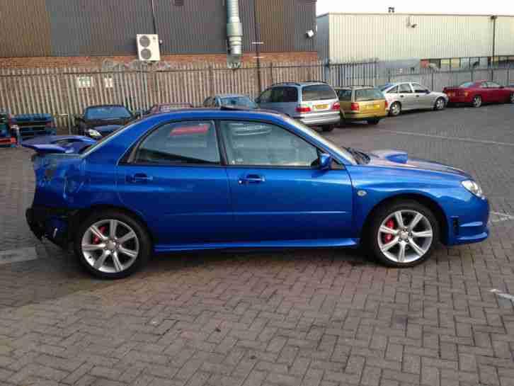 2006 06 Subaru Impreza 2.5 WRX STI Type UK BLUE ...  2006 Subaru Impreza Wrx Blue