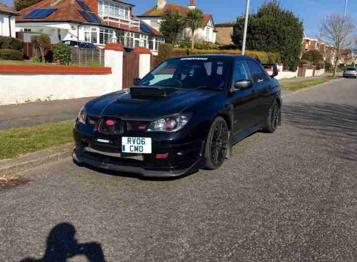 Subaru 2006 Impreza Wrx Sti Black 380 Bhp Type Uk Can T