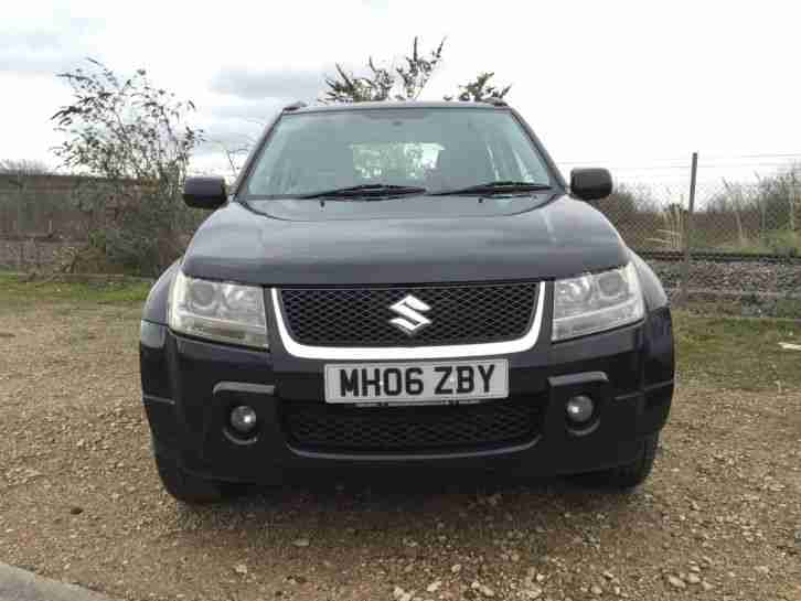 2006 SUZUKI GRAND VITARA DDIS BLACK