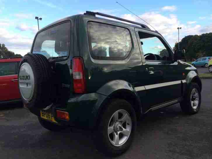 2006 SUZUKI JIMNY VVTS GREEN !! ONE LADY OWNER FROM NEW !!! BARGAIN !!!!!