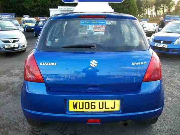 2006 SUZUKI SWIFT 1.3 GL 5 DOOR F.S.H