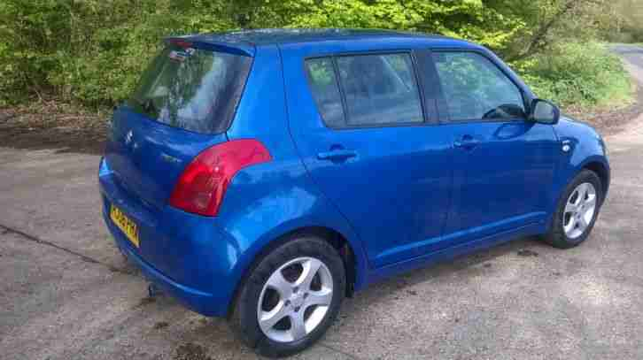 2006 SUZUKI SWIFT VVTS GLX BLUE 12 Months MOT £2395
