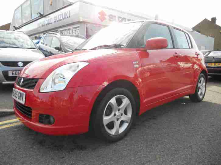 2006 SUZUKI SWIFT VVTS GLX RED