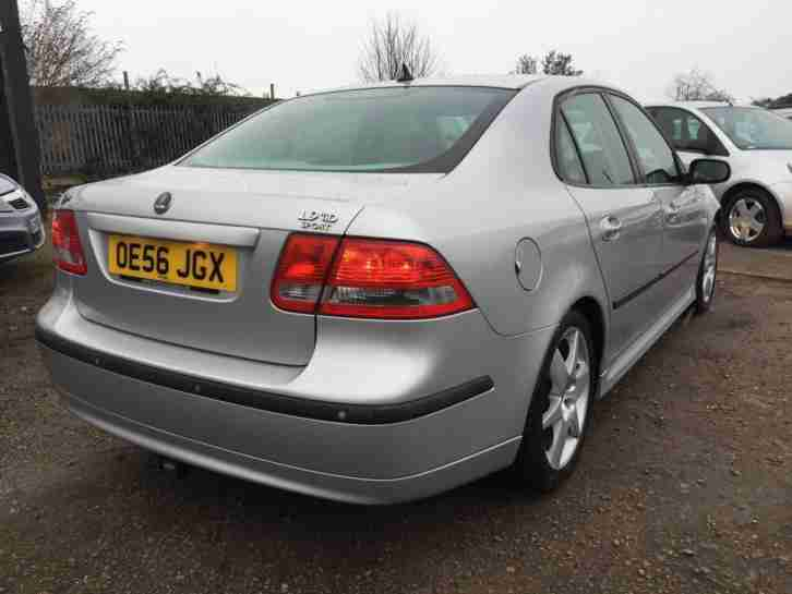 2006 Saab 9-3 1.9TiD Vector Sport 150hp 2 Keys Long Mot Half Leather