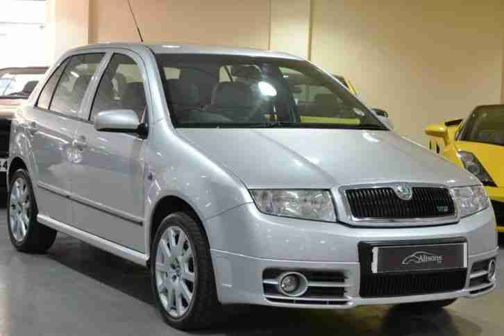 skoda 2006 fabia 1 9 tdi pd 130 vrs 5dr car for sale. Black Bedroom Furniture Sets. Home Design Ideas