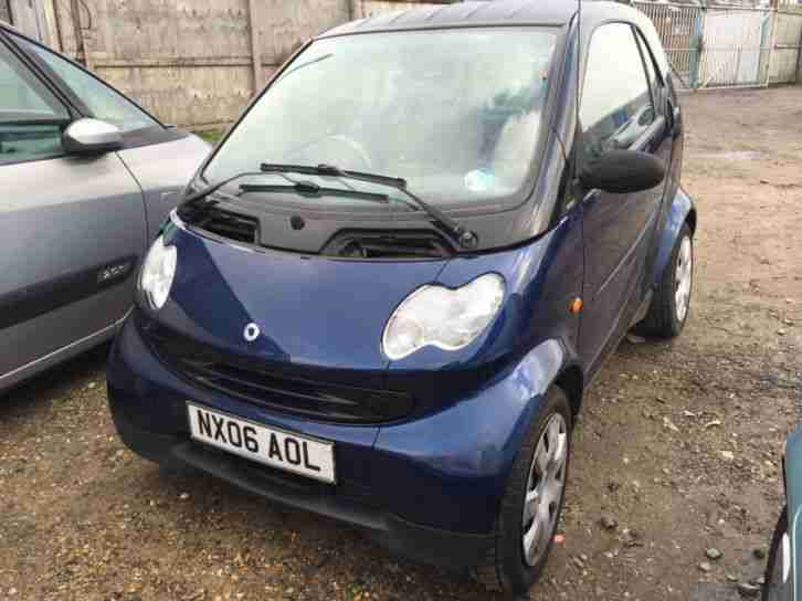 smart 2006 fortwo pure mot spares or repairs salvage car for sale. Black Bedroom Furniture Sets. Home Design Ideas