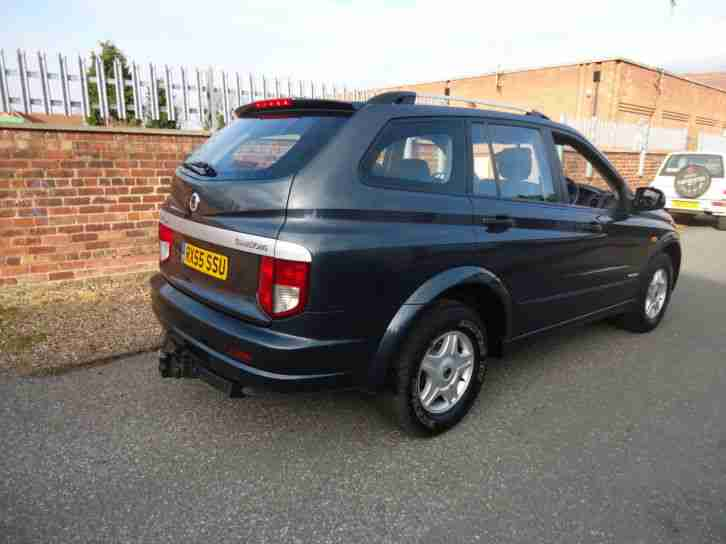 2006 Ssangyong Kyron 2.0TD Auto SE Diesel Grey Leather Only 51,000 Miles