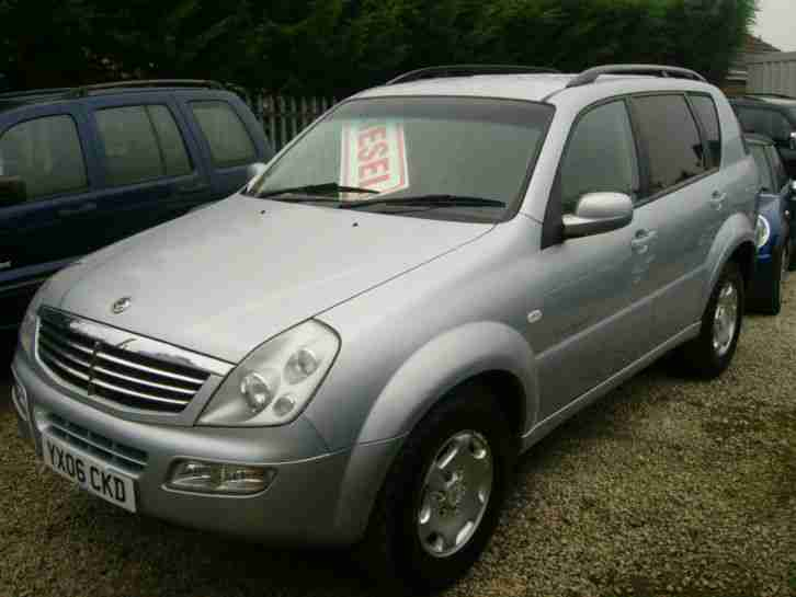 2006 Ssangyong Rexton 2.7TD RX 270 SX Mercedes Powered 71000 Miles Superb !
