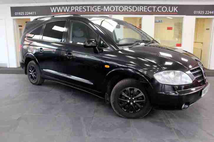 2006 Ssangyong Rodius 2.7 TD SX 5dr