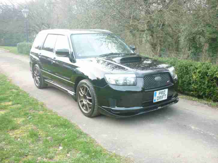 2006 Forester Sti Facelift model