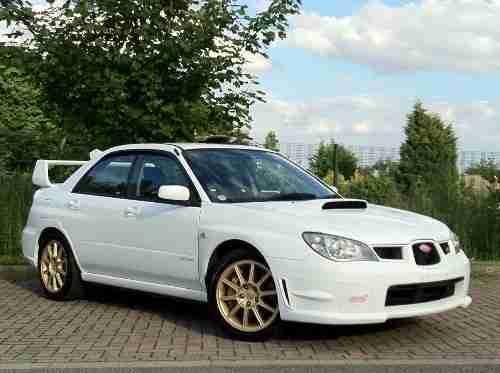 Subaru 2006 Impreza 2 0 Wrx Sti Spec C Fresh Import Jdm White Hawkeye