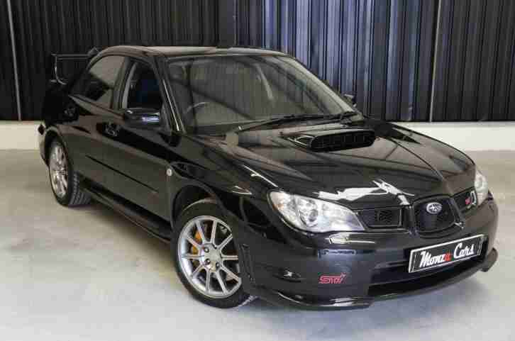 subaru 2006 impreza 2 5 wrx sti type uk 4dr car for sale. Black Bedroom Furniture Sets. Home Design Ideas