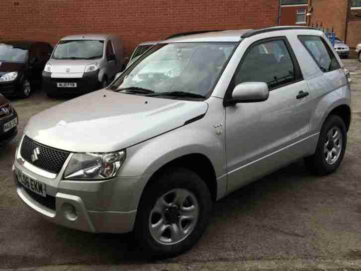 suzuki 2006 grand vitara 1 6 vvt 3dr silver car for sale. Black Bedroom Furniture Sets. Home Design Ideas
