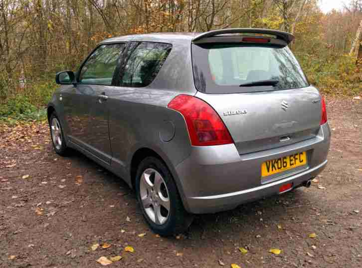 suzuki 2006 swift 1 5 glx grey 3 door manual car for sale. Black Bedroom Furniture Sets. Home Design Ideas