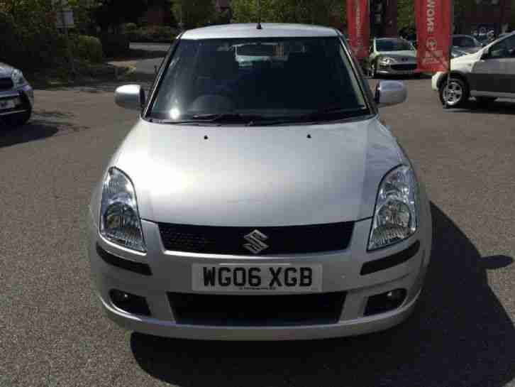 2006 Suzuki Swift GLX VVTS Petrol Silver Manual