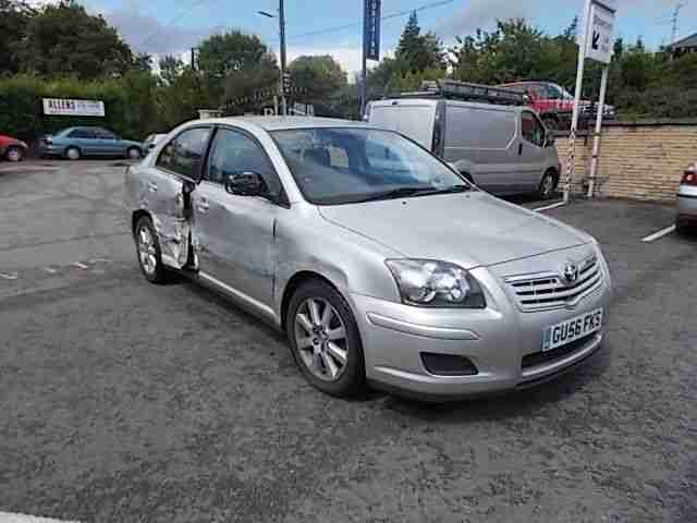 2006 TOYOTA AVENSIS T3-S DAMAGED REPAIRABLE SALVAGE INCLUDING PARTS