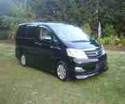 2006 Toyota Alphard MZG Facelift Model, Cruise Control, Electric Doors, Sunroofs