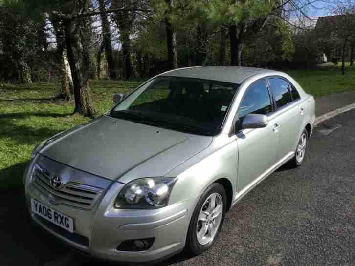 2006 Avensis 1.8 T3 X 1 previous owner