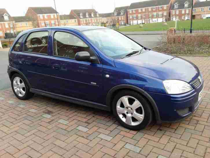 2006 vauxhall corsa design twinport blue car for sale. Black Bedroom Furniture Sets. Home Design Ideas