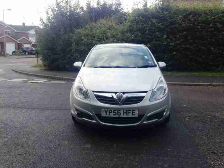 2006 VAUXHALL CORSA LIFE A C SILVER