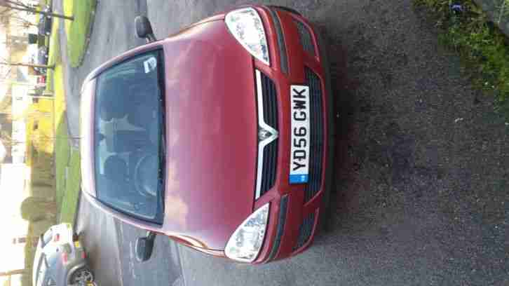 2006 VAUXHALL CORSA LIFE TWINPORT RED